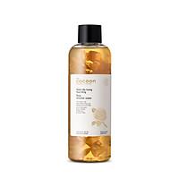 Combo sạch sâu cấp ẩm Cocoon : 1 nước tẩy trang hoa hồng 500ml + 1 dầu tẩy trang hoa hồng Cocoon 140ml