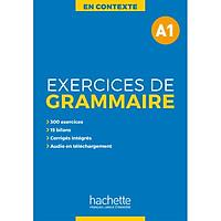 Sách học tiếng Pháp: En Contexte : Exercices de grammaire A1