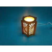 Đèn xông tinh dầu kiêm đèn ngủ dạng lồng đèn