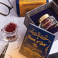 Nhụy Hoa Nghệ Tây Premium Saffron - Threads of Gold (Premium Product of Baby Brand) Hộp 1 Gram