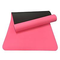Thảm Tập Yoga Relax Ec Tpe 2 Lớp (183 x 61 cm) - Hồng