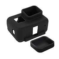 Vỏ Silicon bảo vệ case GoPro Hero 5 6 Black và Cáp đậy  Puluz - Hàng chính hãng