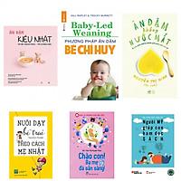 Combo 5 cuốn ăn dặm kiểu Nhật+  ăn dặm bé chỉ huy+ăn dặm không nược mắt +nuôi dạy bé trai theo cách mẹ Nhật+chào con ba mẹ sẵn sàng (bản đặc biệt tặng kèm sách người Mỹ giúp con ham đọc sách )
