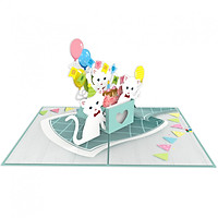 Thiệp 3D pop up Chúc mừng sinh nhật