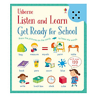 Sách tiếng Anh - Usborne Listen And Learn Get Ready For School