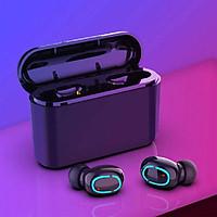 Tai Nghe Bluetooth 5.0 (Tai Nghe Không Dây) HBQ  - Nhỏ gọn -  Chống Nước IPX7 - Nghe 90h - Tích Hợp Micro - Tự Động Kết Nối