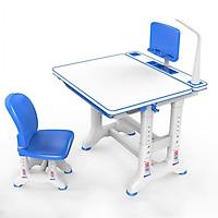 Bàn học sinh thông minh chống gù chống cận thị New Life N43 - Mặt bàn phủ chống lóa, vẽ viết vệ sinh dễ dàng - Điều chỉnh độ cao tương ứng chiều cao của trẻ - Có giá đọc sách, để Ipad - Móc treo đồ cạnh bàn- Chân thiết kế mới chắc chắn -Hàng chính hãng