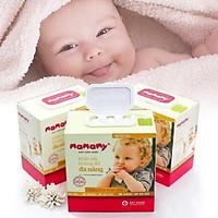 1 Thùng 18 hộp khăn khô đa năng Mamamy 180 tờ  siêu tiết kiệm