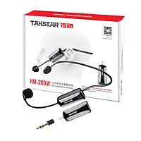Micro không dây đeo tai TakStar HM 200W - Hàng chính hãng