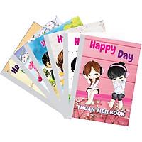 Lốc 10 Quyển Tập học sinh gáy vuông HAPPY DAY - kẻ ngang (96 Trang)  -mẫu ngẫu nhiên