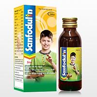 Sanfodulin Chai 100ml - Miễn dịch khỏe, trẻ ăn ngon