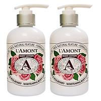 Combo 2 Sữa dưỡng thể Rose 250ml - L'amont En Provence