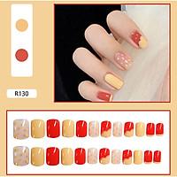 Bộ 24 móng tay giả nail thơi trang như hình (R-130)