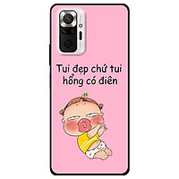 Ốp lưng dành cho Xiaomi Xiaomi Redmi Note 10 - Redmi Note 10 Pro - mẫu Quỳnh Đẹp