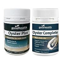 Combo 2 Hộp Tinh Chất Hàu Oyster Plus Goodhealth (hộp 30 viên) - Viên uống bổ sung kẽm tăng cường sinh lý nam