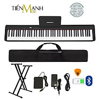 Đàn Piano Điện Bora BX5 - Đàn, Chân, Bao, Nguồn - 88 Phím nặng Cảm ứng lực Midi Keyboard Controllers BX5- Kèm Móng Gẩy DreamMaker