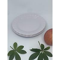 Bộ 5 Dĩa (Đĩa) 6 cạn xoắn An Toàn Sức Khỏe Nhựa Xanh Melamine A606 WA3
