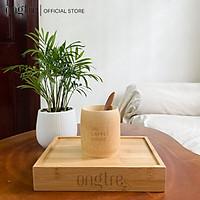 Cốc/ly tre in logo các thương hiệu theo yêu cầu/Ly Cốc tre quà tặng doanh nghiệp | ongtre (Vietnam)