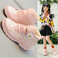 Giày bốt bé  gái phong cách thể thao  từ 3 đến 14 tuổi  - TB94
