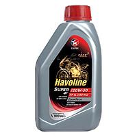 Nhớt Xe Caltex Havoline Super 4T 20W50  (0.8L)