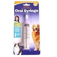 Dụng cụ bơm thuốc cho chó mèo