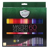 Bút Chì Màu Dài Masterart Series F60 (60 Màu)