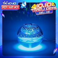 Máy Phun Sương,Tạo Độ Ẩm USB Crystal Night Light Projection Humidifier 500ml-Giao Màu Ngẫu Nhiên -Hàng Chính Hãng