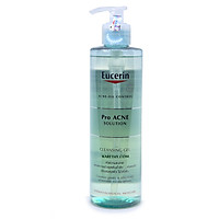 Eucerin Pro ACNE Solution Cleansing Gel: Gel Rửa Mặt Da Mụn (400 ml)