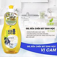 Nước Rửa Rau Củ - Nước Rửa Chén Bát - Nước Rửa Sinh Học Eco Green Hàn Quốc Vị Cam - Hàng Nhập Khẩu Hàn Quốc