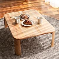 Bàn Trà Sofa C Table Nội Thất Kiểu Hàn - Gỗ Tự Nhiên (Size M)