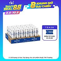 Thùng 24 Lon Nước Uống Có Gas Aquafina Soda (320ml/Lon)