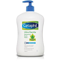 Sữa tắm cho da nhạy cảm Cetaphil Ultra Gentle Refreshing Body Wash 1L