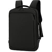 Balo công nghệ cực chất, có ngăn chống sốc laptop, chống bám nước, có cổng sạc USB, chuyển đổi được từ balo thành cặp xách ngang, có thể gắn vào vali khi di chuyển