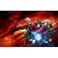 Poster A4 dán tường Anime, decal 21x30 trang trí có keo FateStay Night Unlimited Blade Works Wallpapers (7).jpg