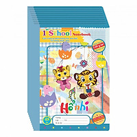Lốc 10 Tập (vở) 4 Ô Ly 1st  School KLONG 48 trang MS 039