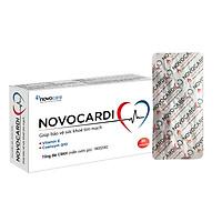 Coenzyme Q10 - NOVOCARDI - Giảm Xơ Vữa Động Mạch, Bảo Vệ Sức Khỏe Tim Mạch, Hỗ Trợ Trong Bệnh Suy Tim, Loạn Nhịp Tim