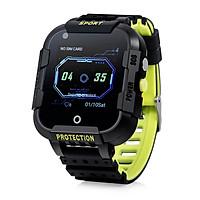 Combo Đồng hồ định vị thông minh Wonlex KT12 - Hàng chính hãng - 4G, Video Call, Chống nước IP67, Pin khủng + Vòng tay may mắn RUBY