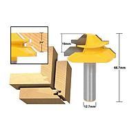Mũi Ghép Góc Vàng 1/2*1-3/8 - Mũi chuyên dụng cho các sản phẩm cắt sâu, không bám gỗ giúp đẩy mũi khoan nhẹ nhàng