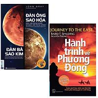 Combo 2 Cuốn Sách Giúp Bạn Hiểu Hơn Về Bản Thân : Đàn Ông Sao Hỏa Đàn Bà Sao Kim + Hành Trình Về Phương Đông