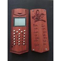 Vỏ gỗ cho điện thoại Nokia 1280 mẫu chữ Nhẫn