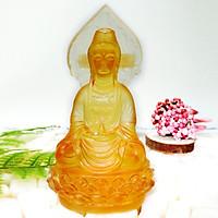 Tượng Phật Quan Âm  Lưu Ly Vàng