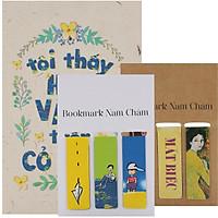 Combo Bookmark Nam Châm Bộ 3 Tác Phẩm Nguyễn Nhật Ánh (Tặng Kèm Postcard Tôi Thấy Hoa Vàng Trên Cỏ Xanh)