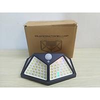 Đèn led cảm ứng năng lượng mặt trời 100LED siêu sáng - tự động bật sáng khi có người chống trộm hoàn hảo - đèn 3 chế độ hoạt động