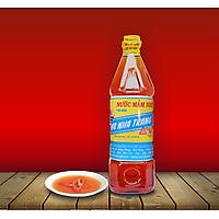 Chai 1 Lít Nước mắm Cá cơm - 584 Nha Trang, Nước mắm truyền thống - Loại 20 độ đạm, Date mới nhất