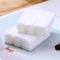 HÀNG MỚI VỀ Bông tẩy trang 222 miếng 3 lớp cotton Pads BTT222