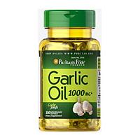 Combo 2 lọ Dầu tỏi phòng ngừa cảm cúm,tăng sức đề kháng Garlic Oil 1000mg Puritan's Pride
