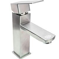 Vòi lavabo nóng lạnh vuông HAFEN SUS304