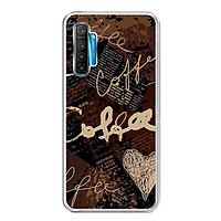 Ốp lưng dẻo cho điện thoại Realme XT - 0073 COFFEE - Hàng Chính Hãng