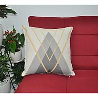 Gối tựa trang trí sofa BNS (45-45 cm) Hình V