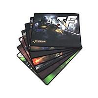 Tấm lót chuột chơi game R7 size 25x20cm - Loại Mousepad Speed (hình game ngẫu nhiên)